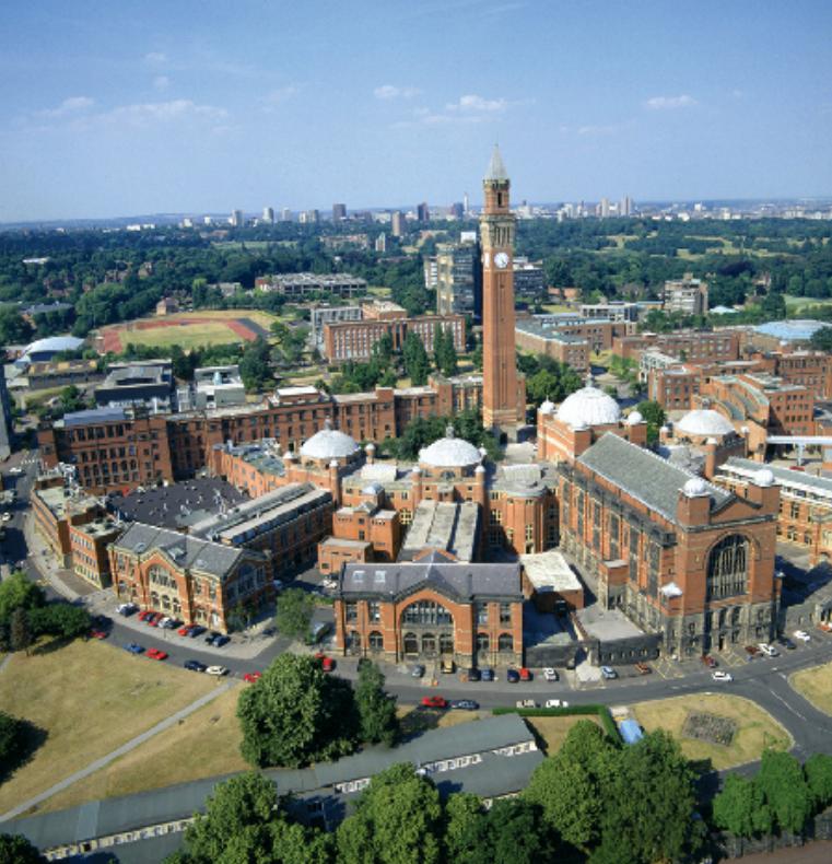 校园风景-英国伯明翰大学-国外大学大全- 114留学网