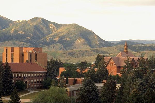 校园风景-美国蒙大拿州立大学-国外大学大全- 114留学