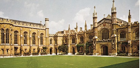 英國劍橋大學 校園景色